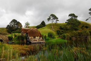 Flawless landscape meadow