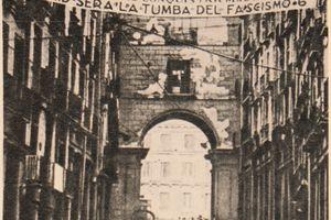 republican banner during the Spanish Civil War