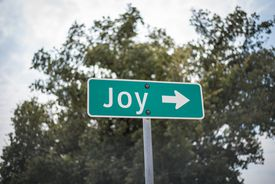 A street sign with a holiday themed name