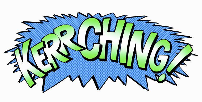 Comic book-style word art
