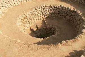 Nasca Culture Aqueduct