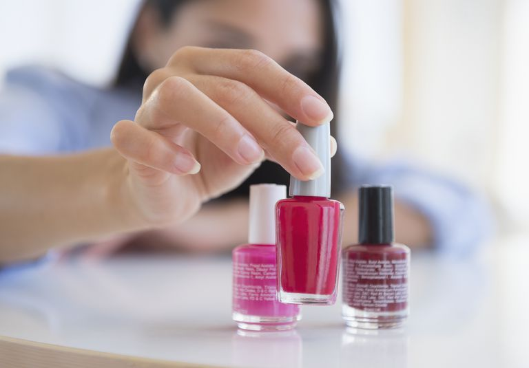 Nail Polish Contains A Balance Of Chemicals To Produce Beautiful And Durable Finish