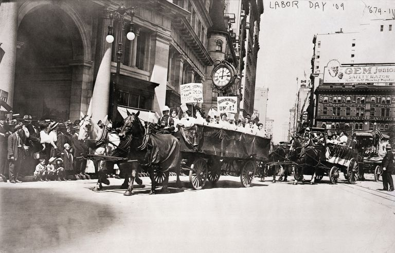 ILGWU Members in Labor Day Parade