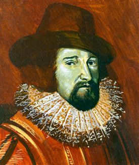 Portrait of Francis Bacon