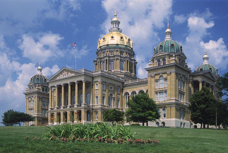 Iowa State Capitol, Des Moines, Iowa