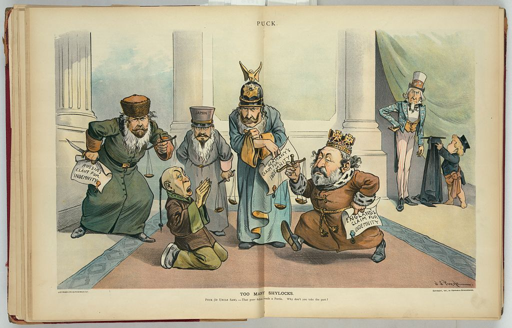 This March 27, 1901 cartoon illustrates growing disagreement among the foreign powers