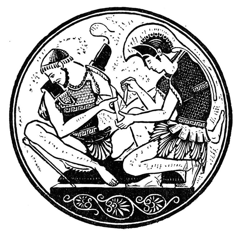 Achilles With Patroclus