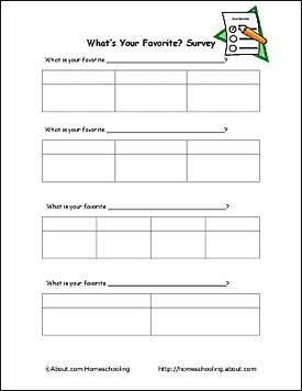 Survey for kids