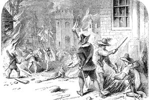 The Burning of Jamestown