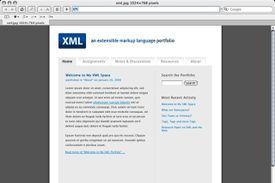 XML Class/Portfolio Layout