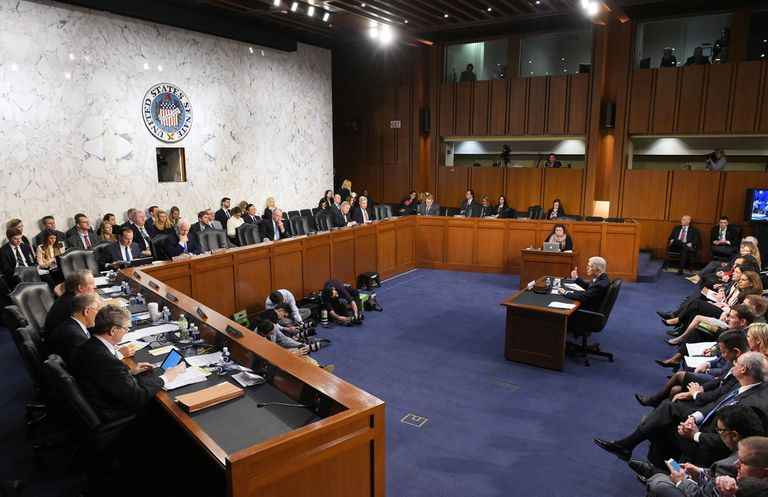 Neil M. Gorsuch testifies before the Senate Judiciary Committee