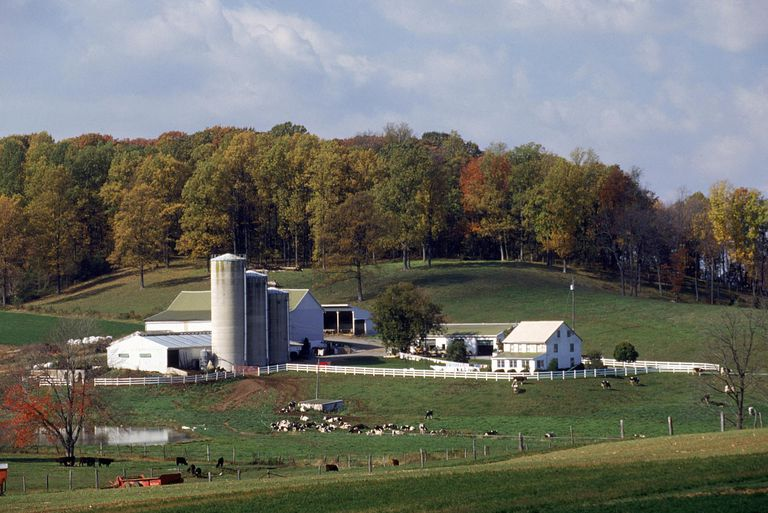 "A farm in Pennsylvania ""German"" Country."