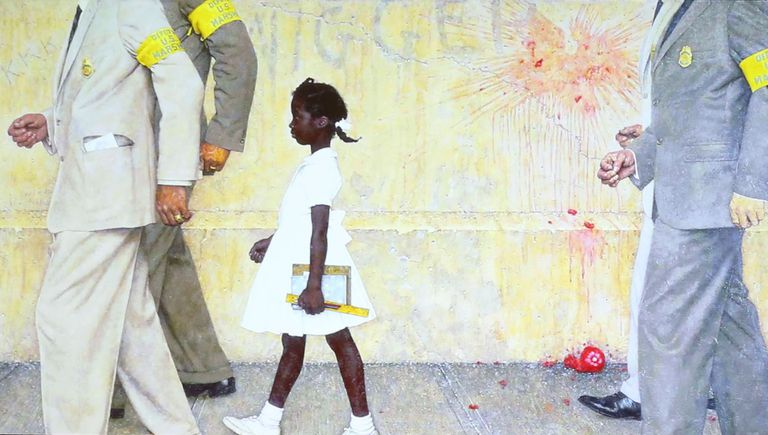 """The Problem We All Live With"" by Norman Rockwell."