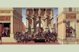 Botticelli's The Story of Lucretia, 1500