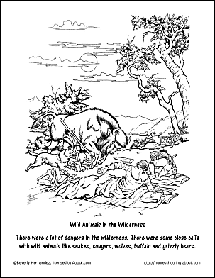 The Wilderness Coloring Page