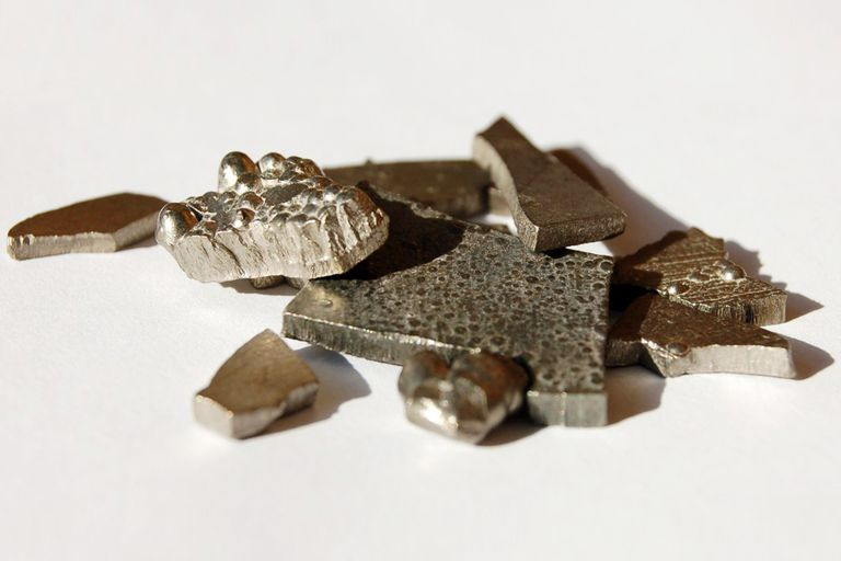 list of all elements considered to be metals