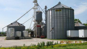 Thursday Katy Trail Grain Elevator
