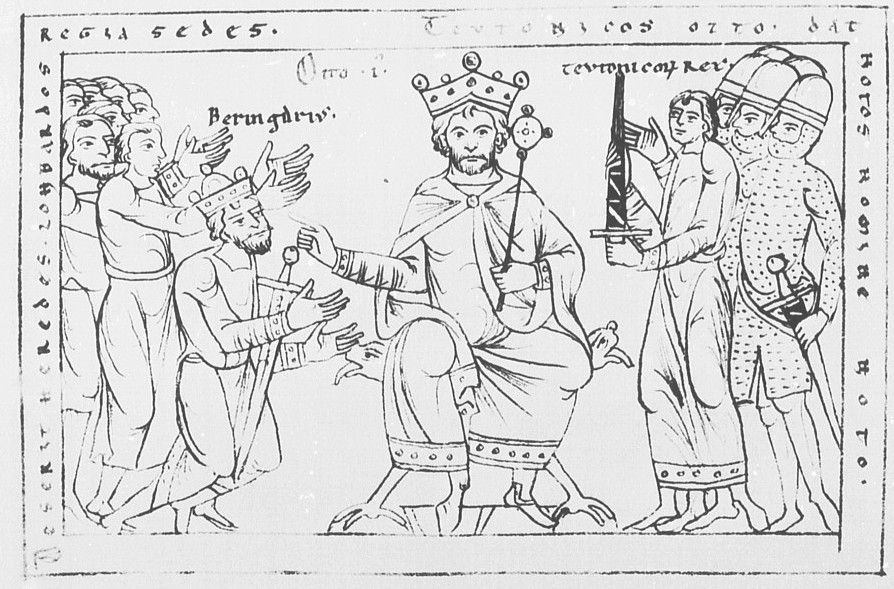 Otto I, Holy Roman Emperor and Berengar