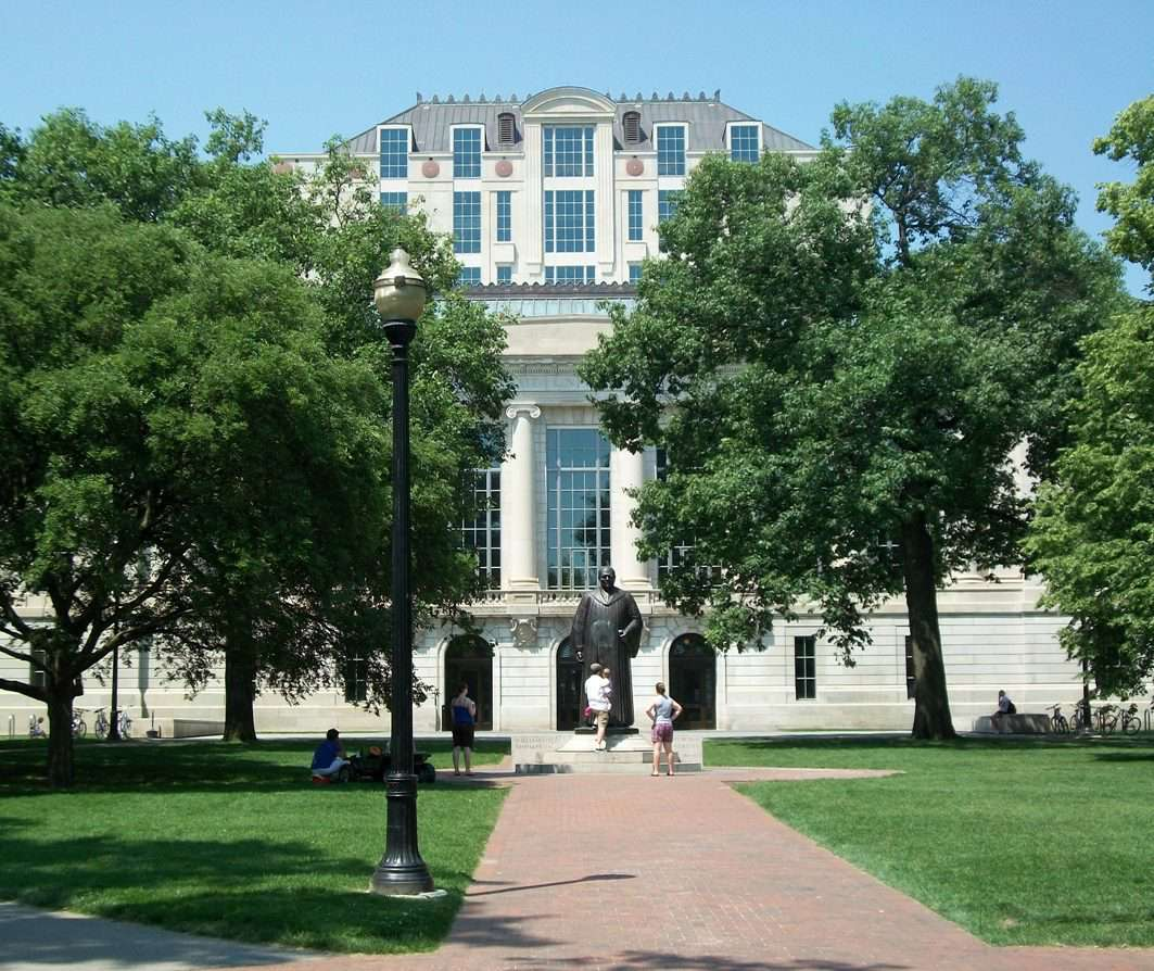 Thompson Library at the Ohio State University