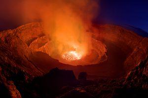 Nyiragongo volcano