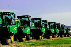 John Deere machine line up