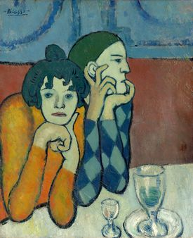 """Picasso's """"The Two Saltimbanques"""""""