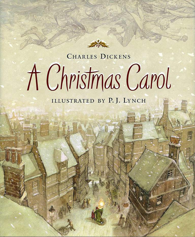 Image result for christmas carol book