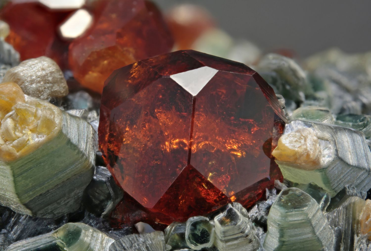 Image result for beautiful rare raw garnet crystal