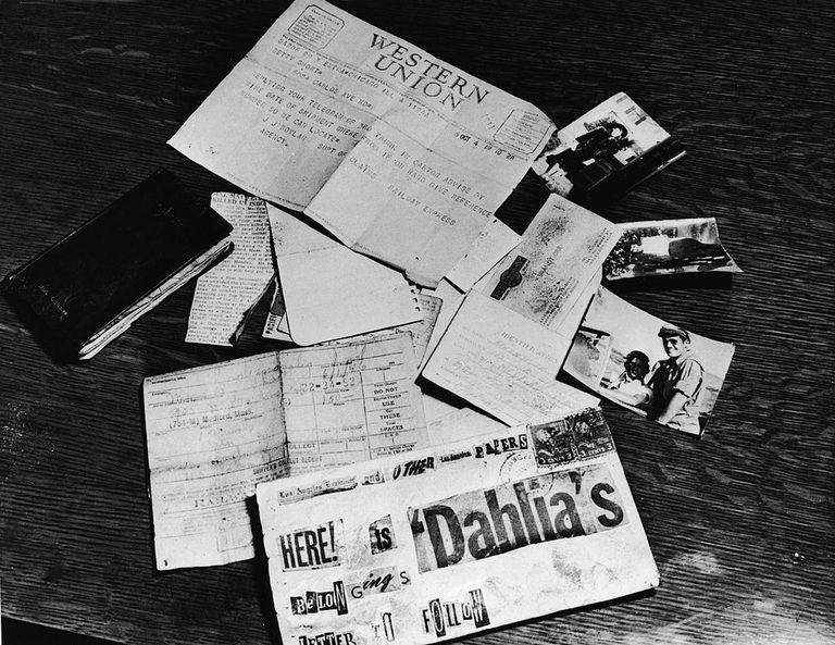 Black Dahlia Evidence