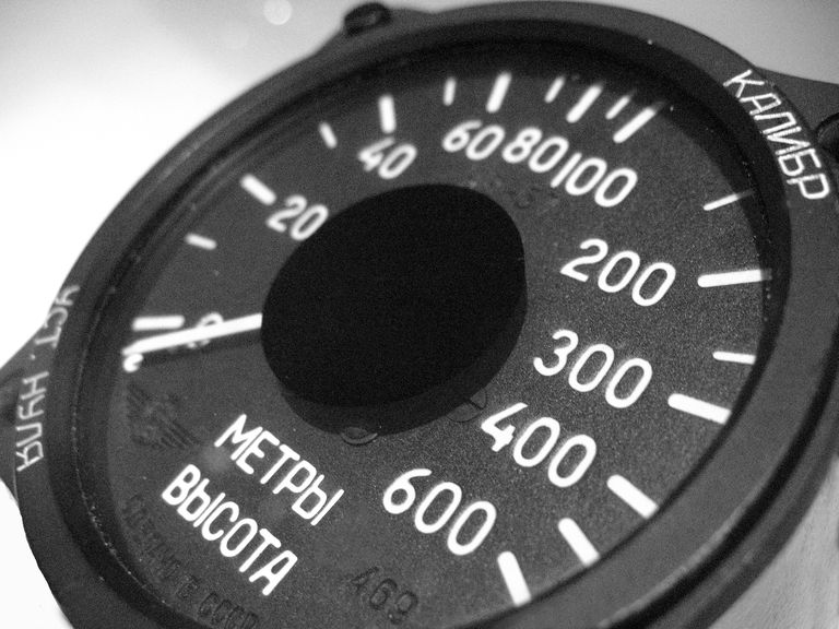 aircraft cabin altimeter
