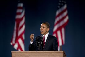 USA - 2008 Presidential Election - Barack Obama Elected President