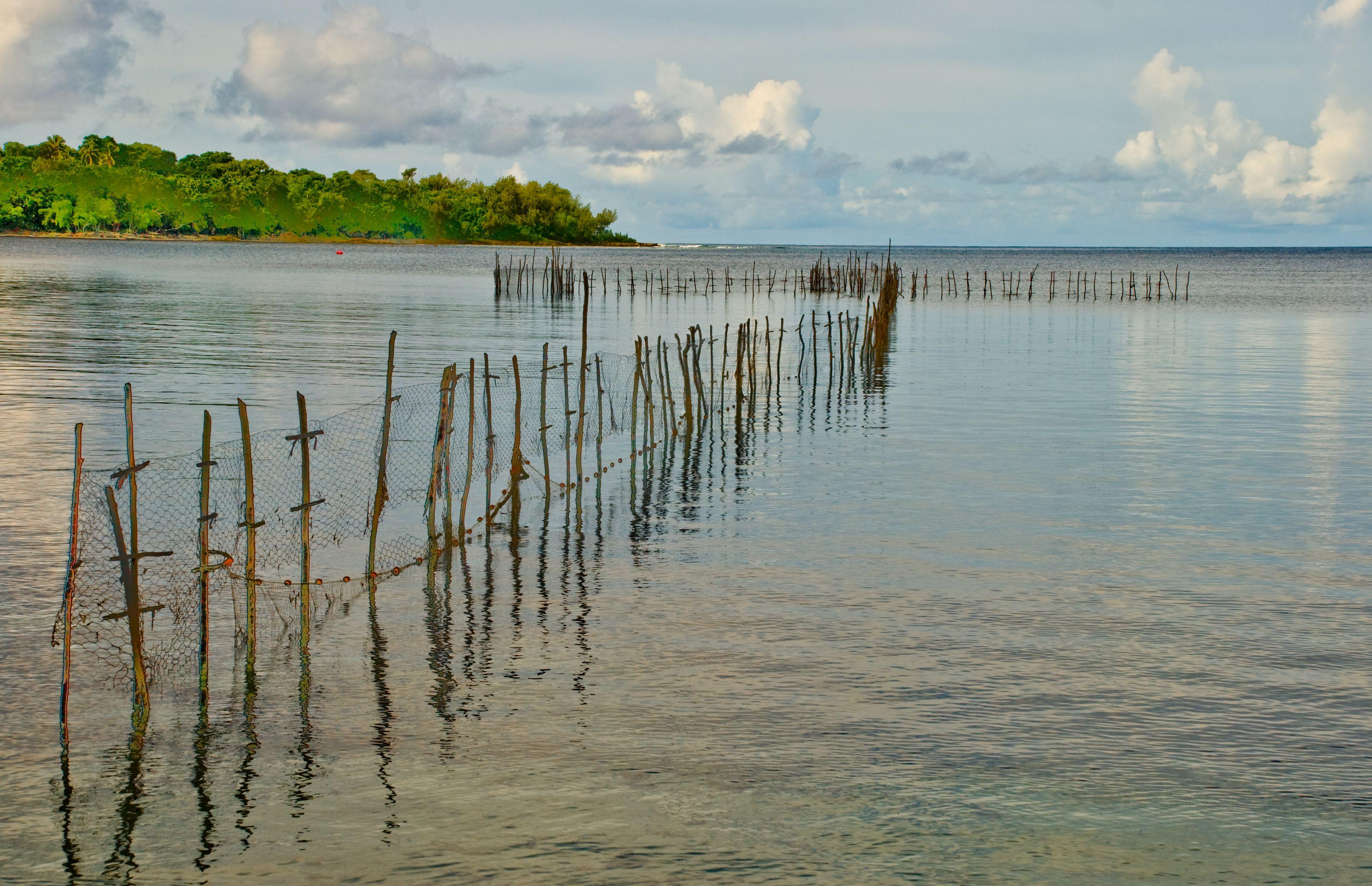 Fish Weir Near Pango, Efate, Vanuatu