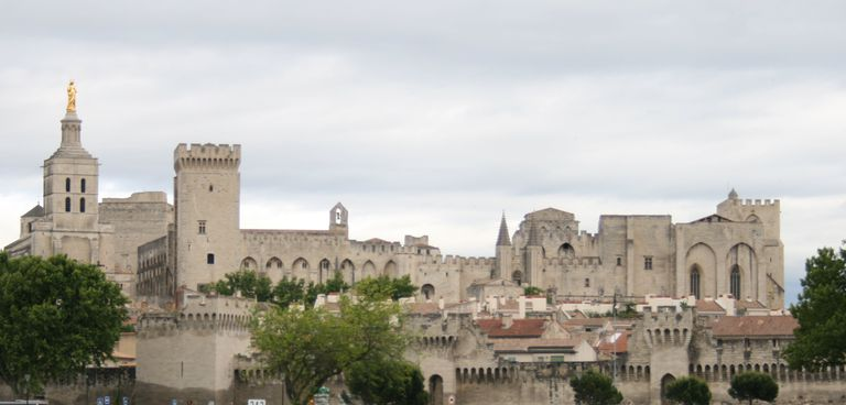 Palace of the popes at Avignon