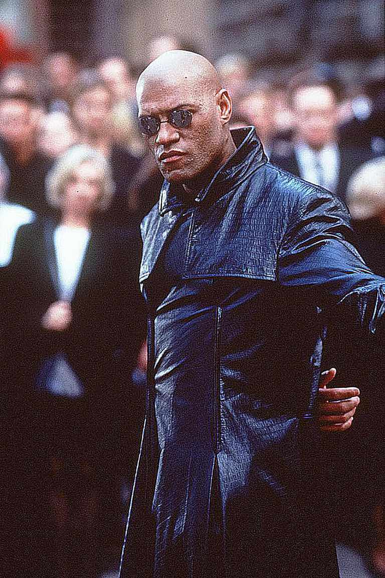 Laurence Fishburn as Morpheus