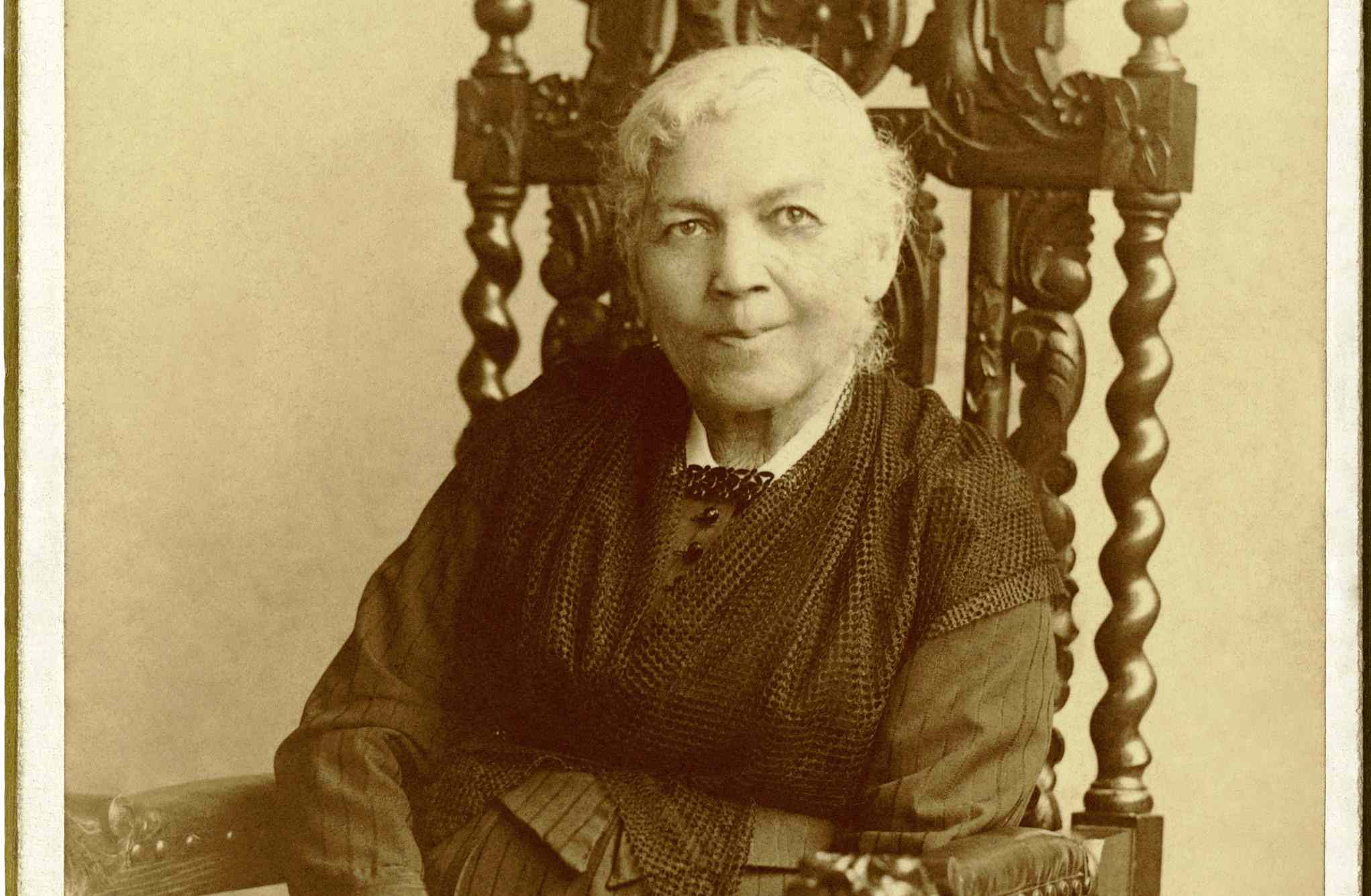 Harriet Jacobs's only known formal portrait, 1849.