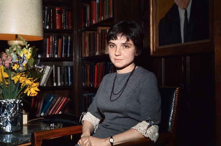 Portrait of Adrienne Rich