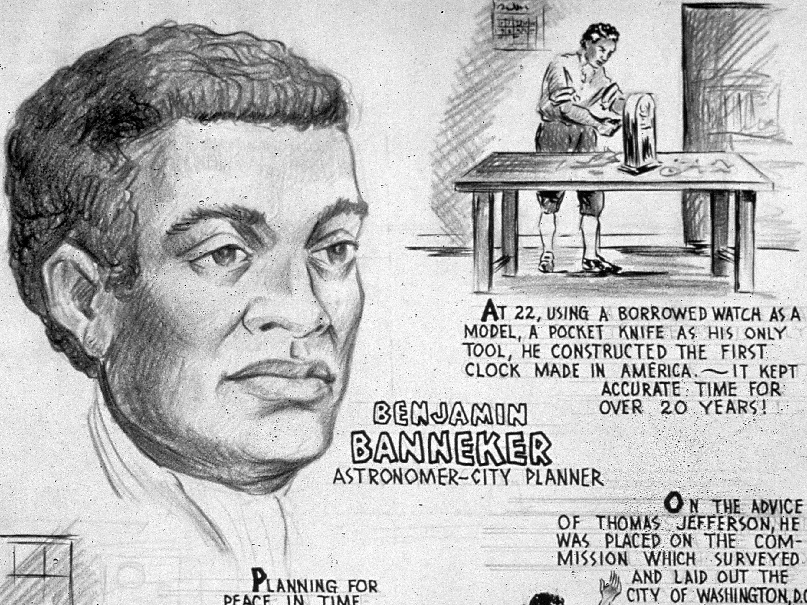 Biography Of Benjamin Banneker Author