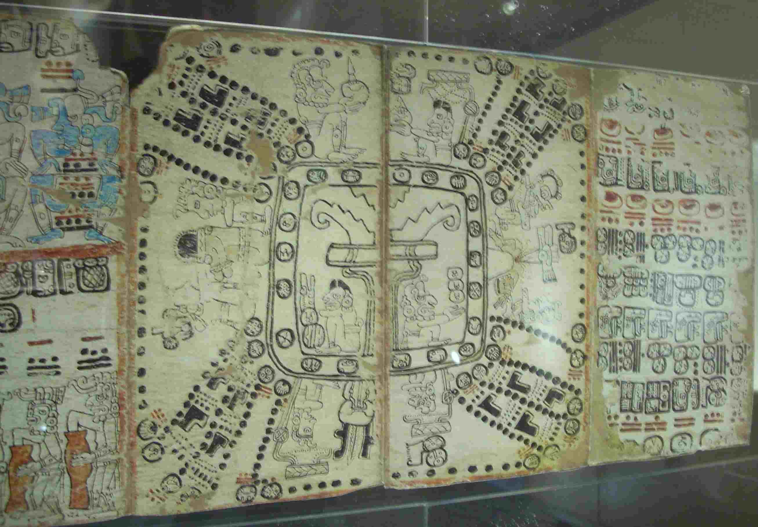 Maya World Tree, Reproduction of the Madrid Codex