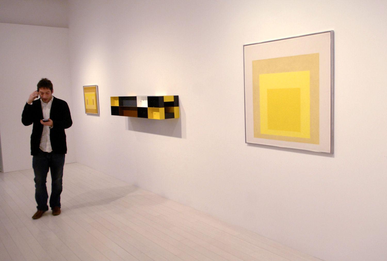 Josef Albers PaceWildenstein Gallery