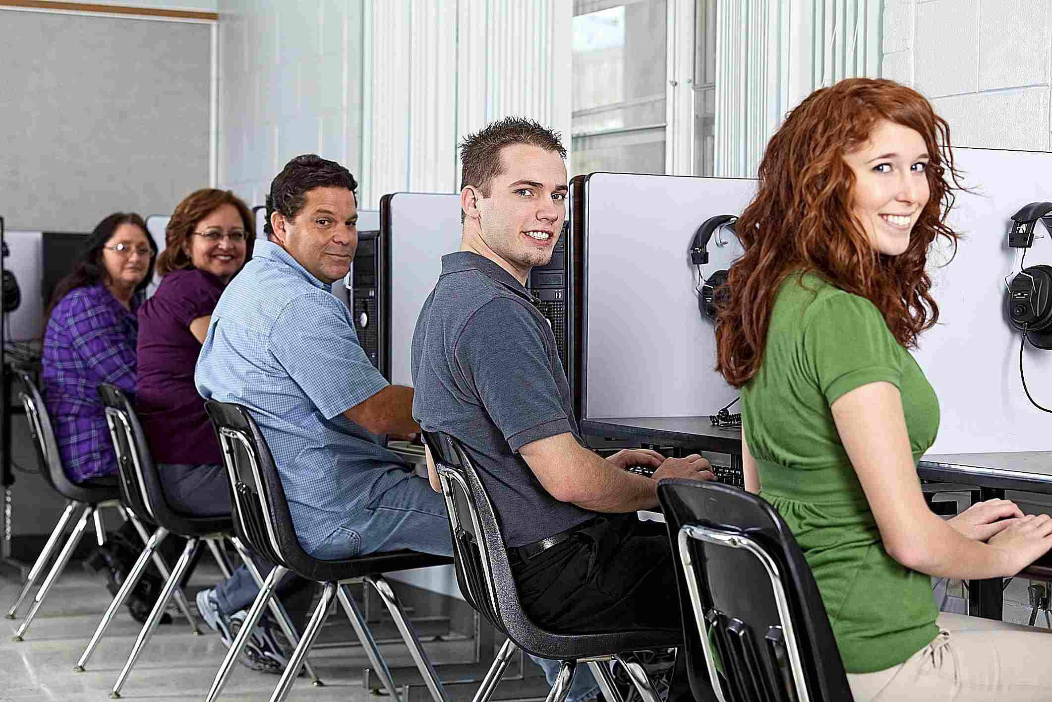 Computer Class adults