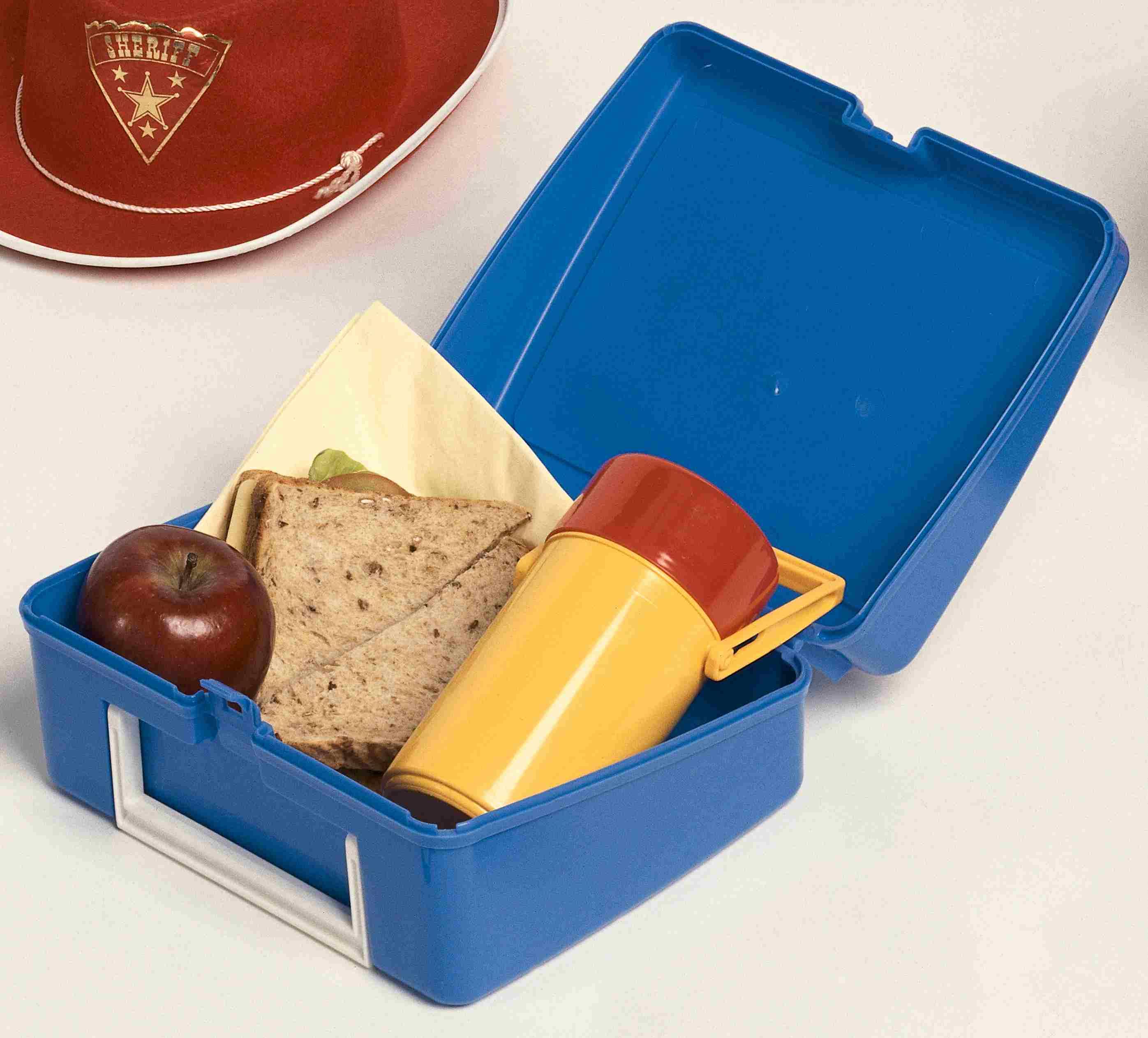 retro lunch box
