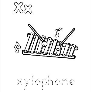 Letter X 3
