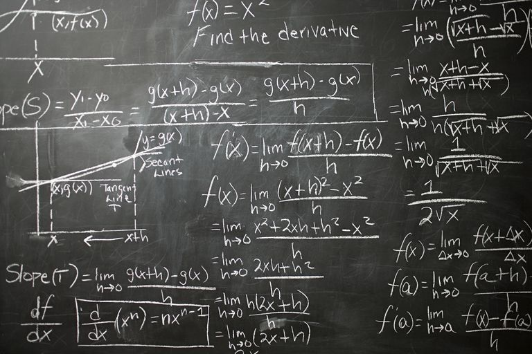 blackboard of calculus