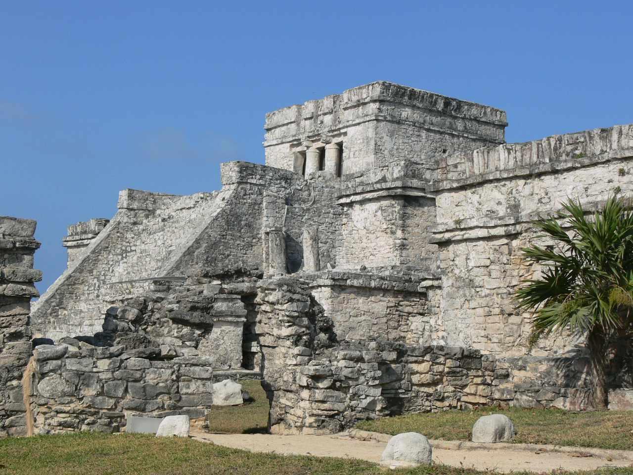 Photo of Castle pyramid in Tulum, Mexico