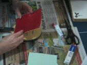 Photo of Table Tennis Rubber Being Glued