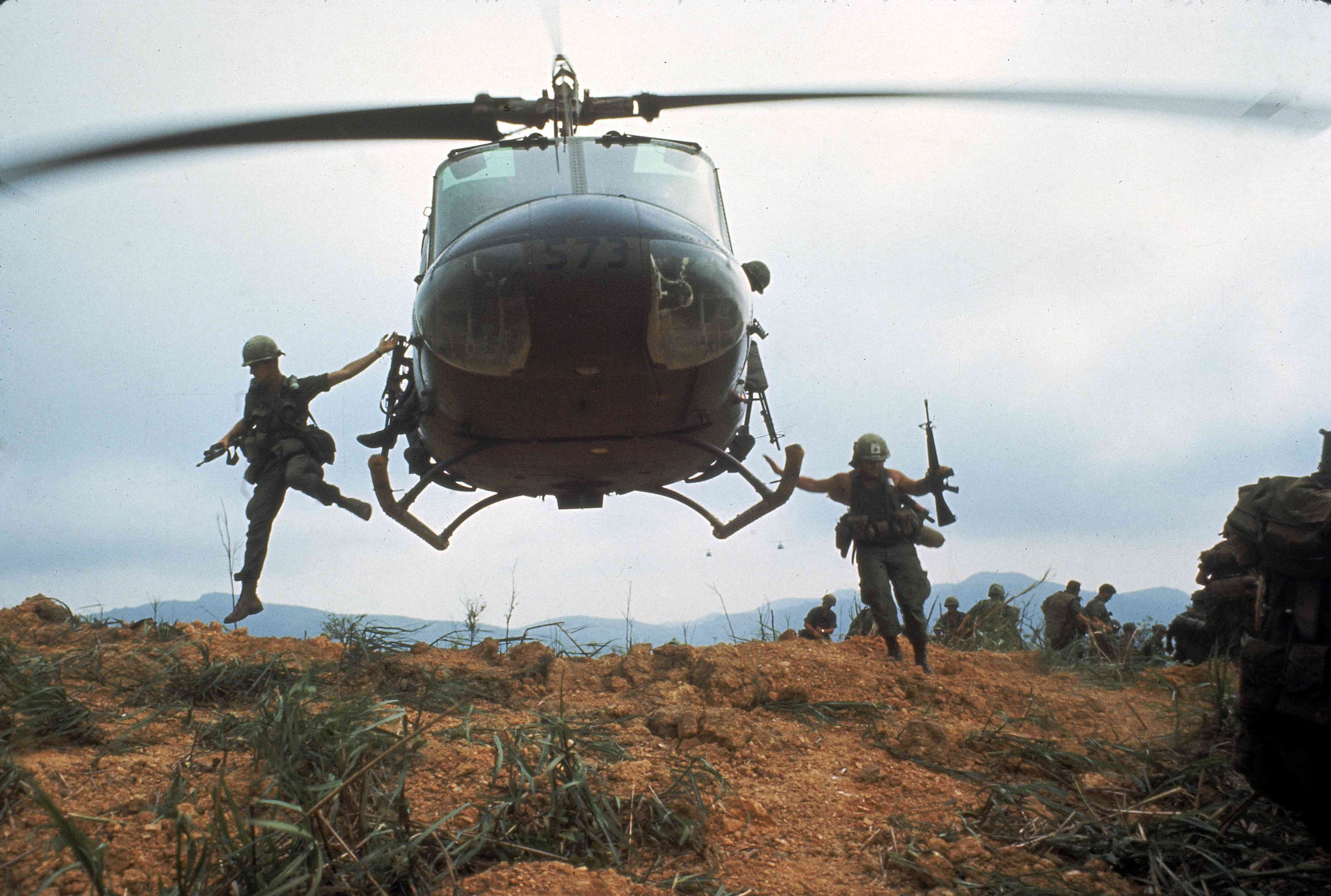 Action from Operation Pegasus: Americans soldiers