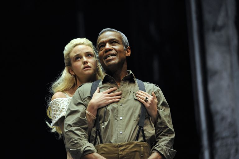 UK - The Royal Shakespeare Company's production of William Shakespeare's Othello directed by Iqbal Khan at the Royal Sha