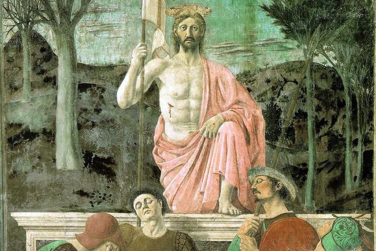 The Resurrection of Jesus Christ by Piero della Francesca (1463).