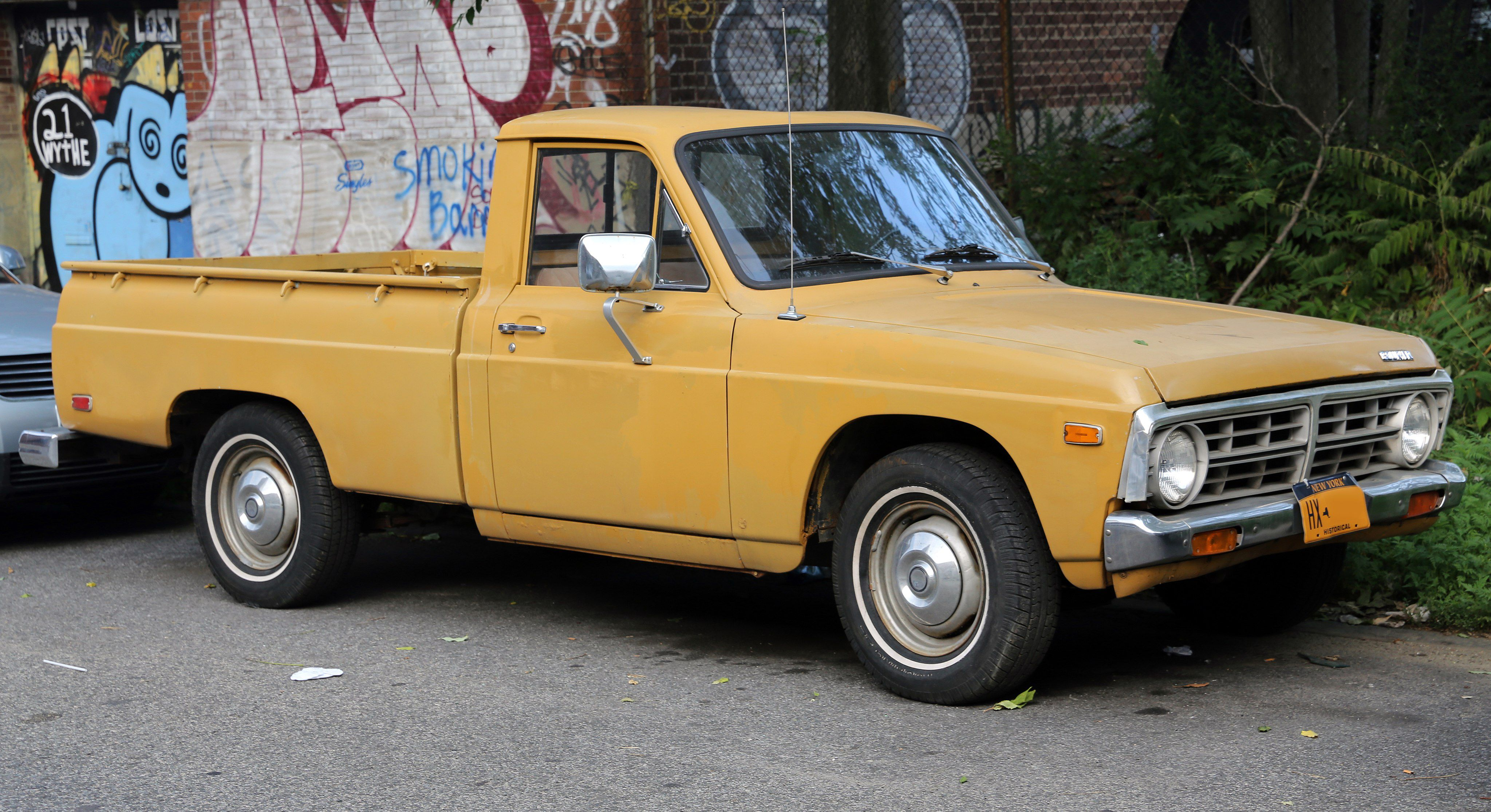 The Chicken Tax Origins And Impact 1980 Ford Courier Interior