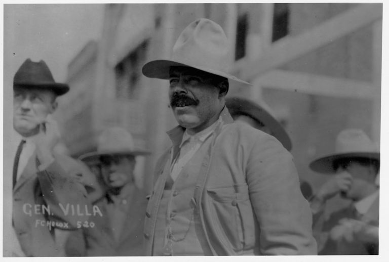 Mexican General Francisco 'Pancho' Villa